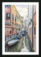 Quiet Venice Picture Frame print