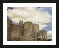 Aberystwyth Castle Picture Frame print