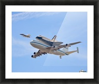 Flying into History by Andrew J. Lee Picture Frame print