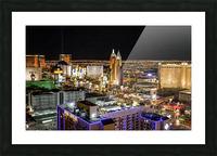 Las Vegas at Night Picture Frame print