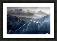 Silent Moments before Descent Picture Frame print