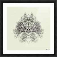 Rorschach Test by Nadav Jonas  Picture Frame print