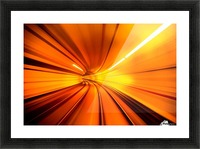 Wormhole Picture Frame print