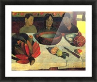 Still Life with Banana by Gauguin Picture Frame print