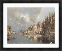 The Haagse Veer, Rotterdam Picture Frame print