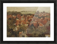 A view of a Dutch town Picture Frame print