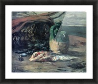 Still Life with Fish by Gauguin Picture Frame print