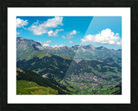 The Bernese Alps Switzerland Picture Frame print