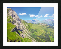 Deep in the Swiss Highlands Picture Frame print