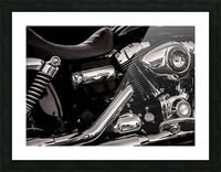 Motorcycle Number 1 Picture Frame print