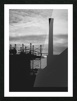 Smokestack Number Three Picture Frame print