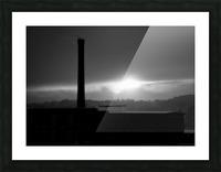 Smokestack Number Nine Picture Frame print