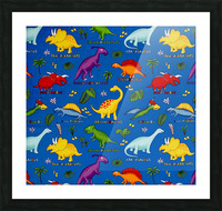 Dinosaurs Royal-Multi Picture Frame print