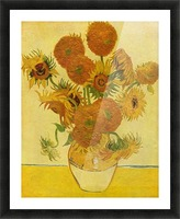 Still life with sunflowers by Van Gogh Picture Frame print