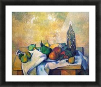 Still life, Rum by Cezanne Picture Frame print