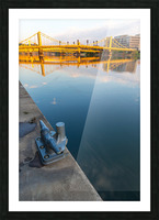 Barge Cleat ap 2877 Picture Frame print