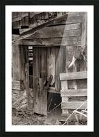 Hints Of Modern ap 1893 B&W Picture Frame print
