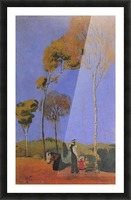 Stroller by Macke Picture Frame print