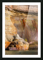 Pictured Rocks ap 2508 Picture Frame print