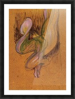 Study for Loie Fuller by Toulouse-Lautrec Picture Frame print