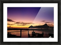 Sunset at The Landings Picture Frame print
