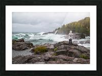 Crashing Waves ap 2605 Picture Frame print