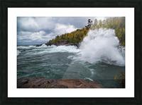 Splash 4 ap 2628 Picture Frame print