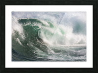 Wave Curl ap 2672 Picture Frame print