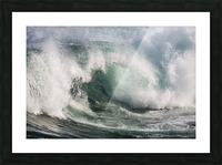 Wave Curl ap 2674 Picture Frame print
