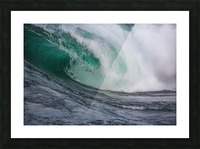 Wave Curl ap 2681 Picture Frame print