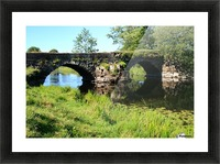 Countryside bridge   Sweden Picture Frame print