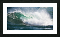 Wave Curl ap 2668 Picture Frame print
