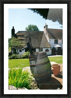 English countryside pub Picture Frame print