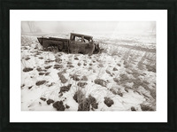 Step Side ap 1734 B&W Picture Frame print