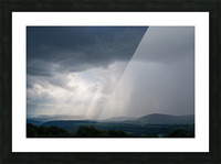 Moving Storm ap 2904 Picture Frame print