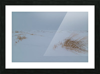 Ice Dunes ap 1987 Picture Frame print