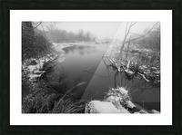 Snow Storm ap 2706 Picture Frame print