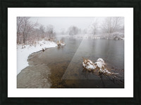 Snow Storm ap 2710 Picture Frame print