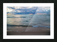 Sunset ap 2446 Picture Frame print
