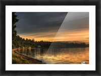 Before Sunset by Randy Hall Picture Frame print