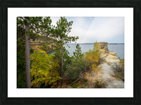 Miners Castle ap 2582 Picture Frame print