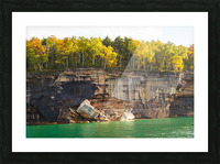 Pictured Rocks ap 2503 Picture Frame print