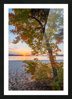 Sunset ap 2574 Picture Frame print