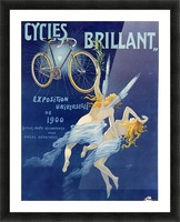 Cycles brillant Picture Frame print