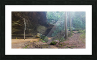 Ash Cave Entrance apmi 1641 Picture Frame print