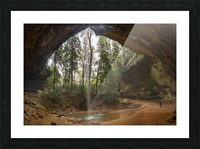 Ash Cave apmi 1648 Picture Frame print