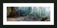 Ash Cave apmi 1646 Picture Frame print