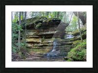 Lodge Falls apmi 1649 Picture Frame print