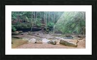 Near Cedar Falls apmi 1632 Picture Frame print