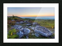 Sunrise ap 2896 Picture Frame print
